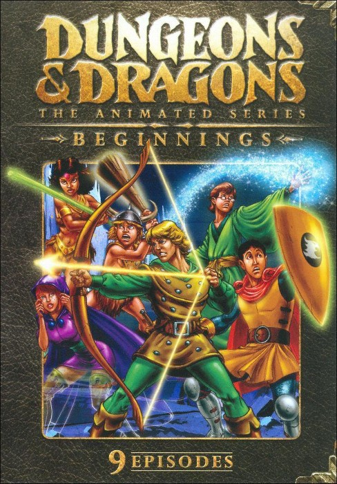 Dungeons & Dragons: The Animated Series - Beginnings (dvd_video) - image 1 of 1