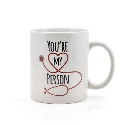 Surreal Entertainment Greys Anatomy You're My Person 16oz Ceramic Coffee Mug