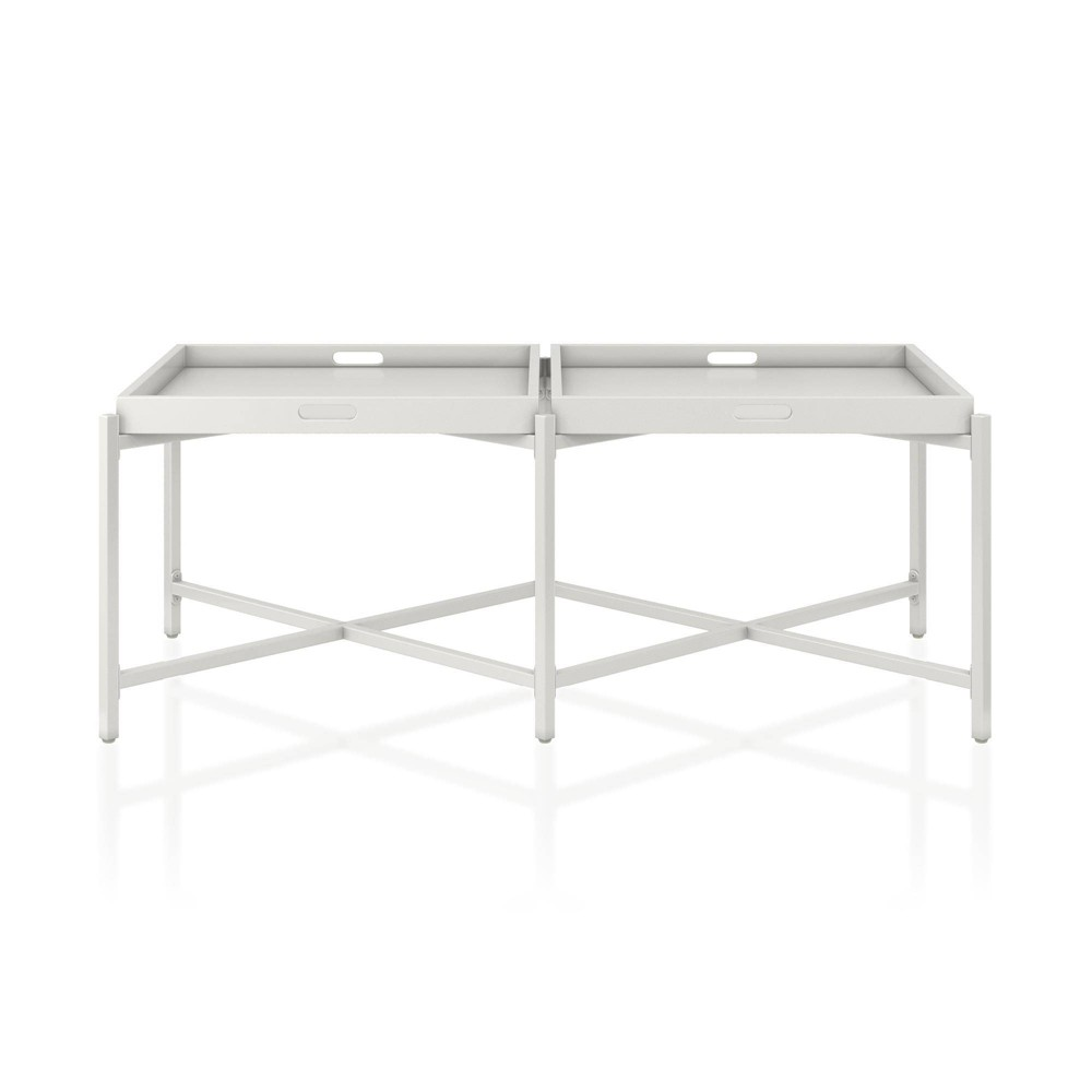 Coco Coffee Tray Table White - CosmoLiving by Cosmopolitan