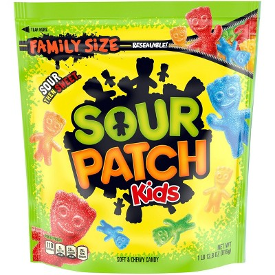 Sour Patch Kids Assorted Soft & Chewy Candy - 1.8lb