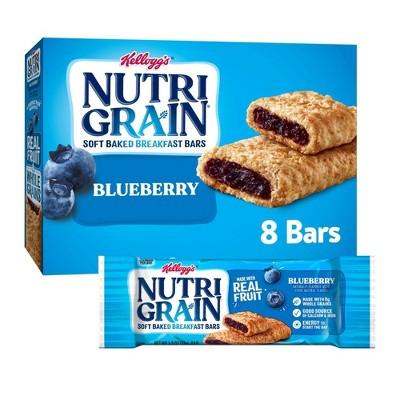 Kellogg's Nutri-Grain Blueberry Soft Baked Cereal Bars - 8ct