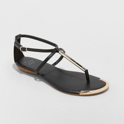 cb40ac0171e Women s Archer T Strap Thong Sandals - A New Day™