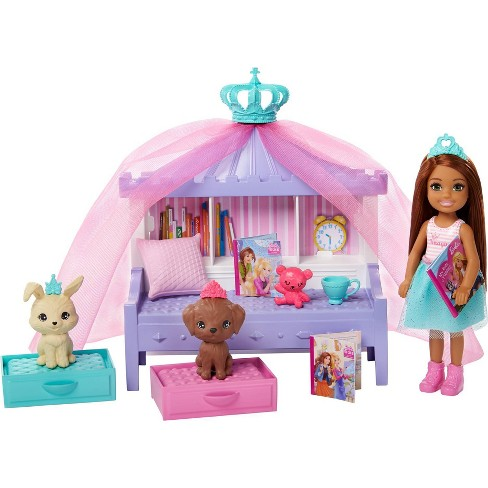 Barbie Princess Adventure Chelsea Princess Storytime Playset Target