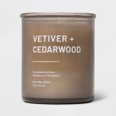 5oz Glass Jar Vetiver and Cedarwood Candle - Project 62™