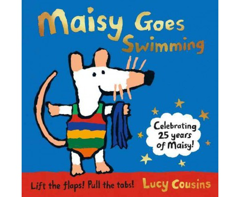 Maisy Goes Swimming (Hardcover) (Lucy Cousins) - image 1 of 1