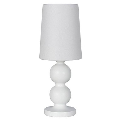 Accent Table Lamp with Stack Ball White (Includes Energy Efficient Light Bulb)- Mastercraft International