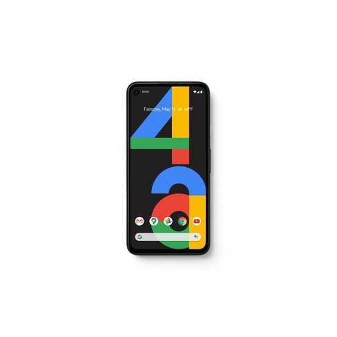 Google Pixel 4a Unlocked (128GB) - Black - image 1 of 4