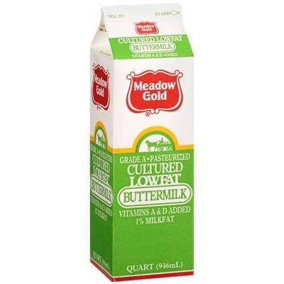 Meadow Gold 1% Buttermilk - 1qt