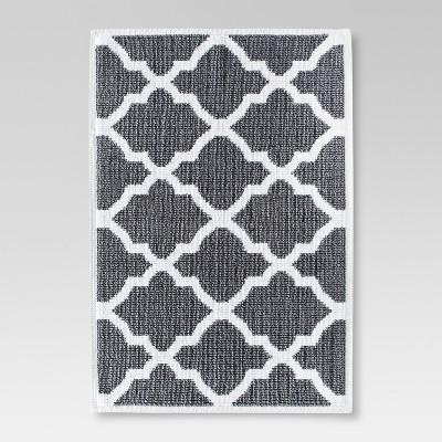 Woven Bath Mat - Cloak Gray (21x30 )- Threshold™