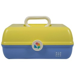 Caboodles On the Go Girl Yellow Over Periwinkle