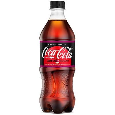 Coca-Cola Cherry Vanilla Zero - 20 fl oz Bottle