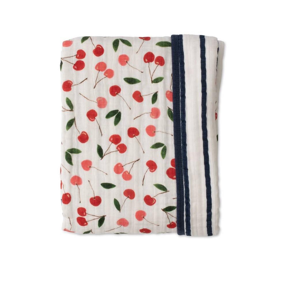 Red Rover Cotton Muslin Quilt Cherries