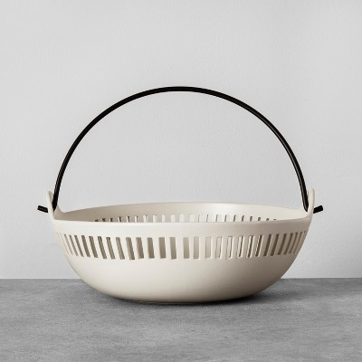 Cutout Bowl with Handle - Cream - Hearth & Hand™ with Magnolia
