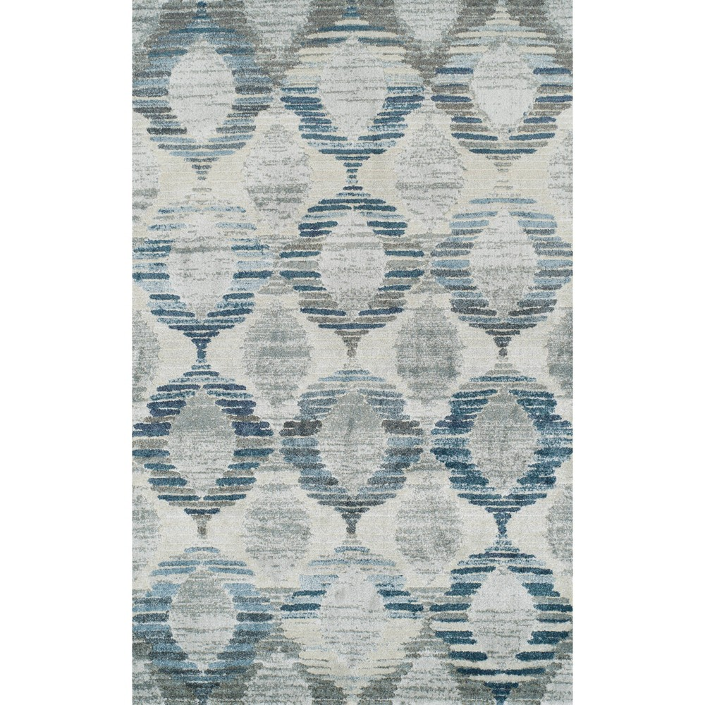 """Image of """"3'3""""""""X5'3"""""""" Linen Abstract Woven Accent Rug - Addison Rugs"""""""