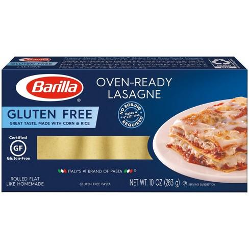 Barilla Gluten Free Oven Ready Lasagna Noodles - 10oz - image 1 of 4
