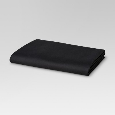 Ultra Soft Fitted Sheet (Queen)Black 300 Thread Count - Threshold™