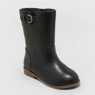 Toddler Girls' Evelyn Zipper Slip-On Riding Boots - Cat & Jack™