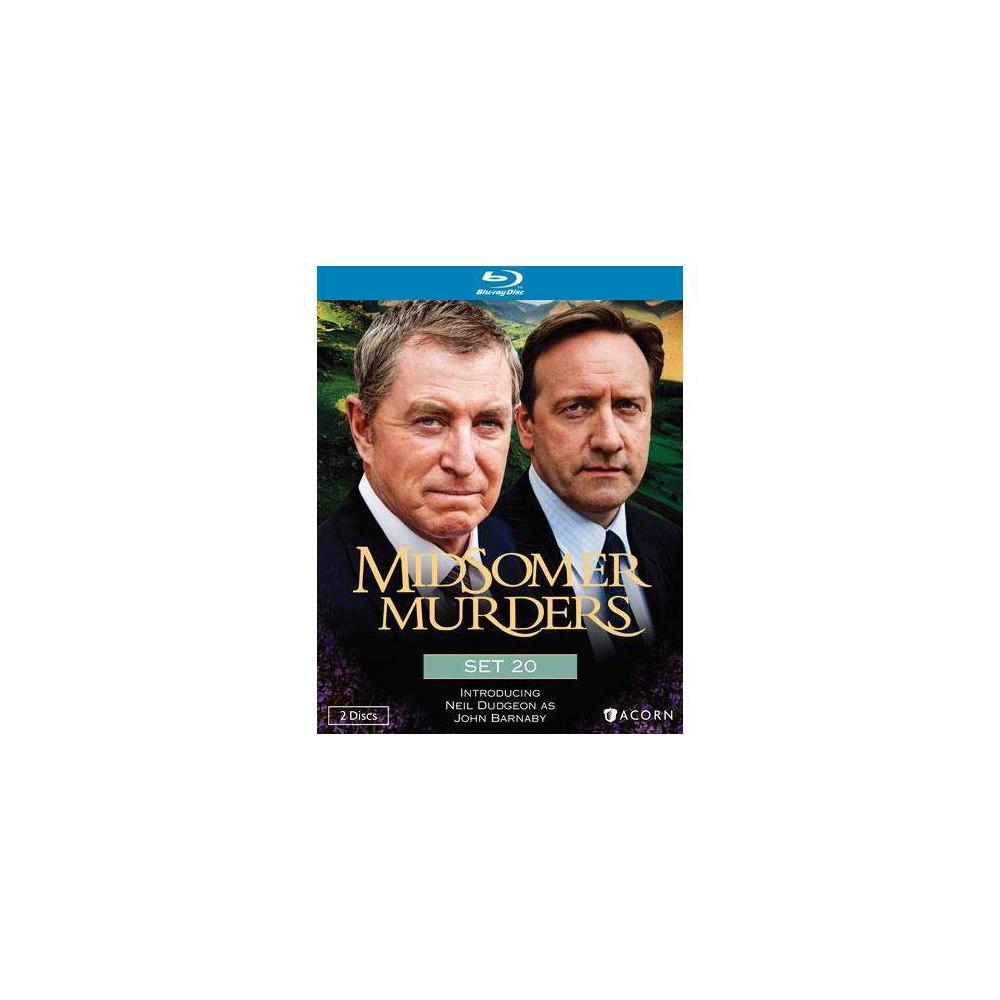 Midsomer Murders Set 20 Blu Ray