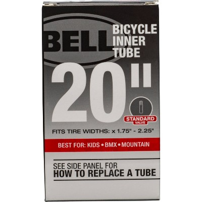 """Bell 20"""" Bike Tire Tube - Black"""