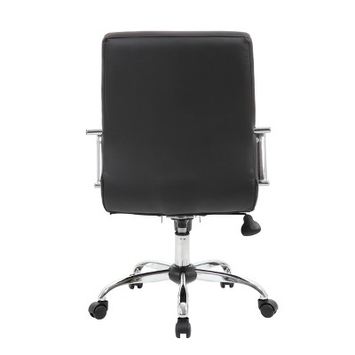 Task Chair With Fixed Arms Black - Boss Office Products : Target