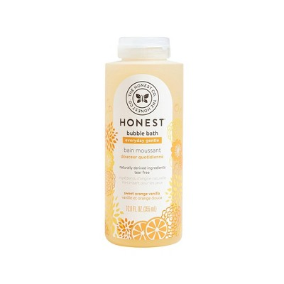The Honest Company Everyday Gentle Bubble Bath Sweet Orange Vanilla - 12 fl oz