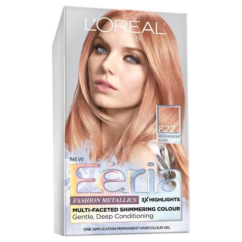 L Oreal Paris Feria Fashion Metallics Medium Blonde