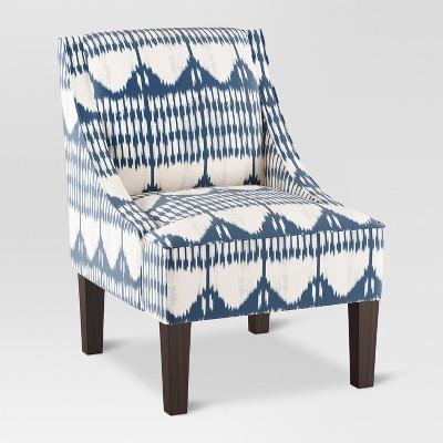 Hudson Swoop Arm Chair   Ikat Blue Tones   Threshold™ : Target