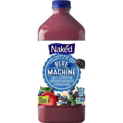 Naked Blue Machine Boosted Juice Smoothie - 64oz