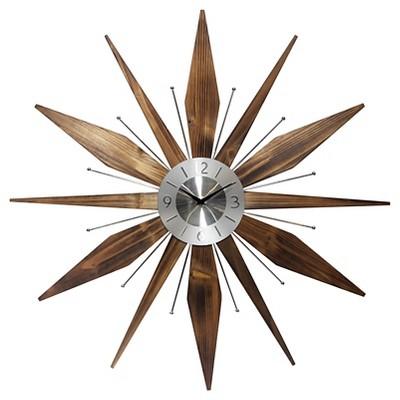 Utopia Wall Clock Brass - Infinity Instruments®