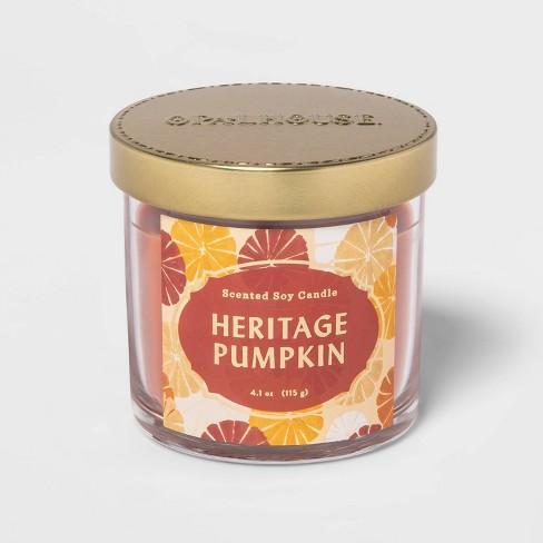 4.1oz Lidded Glass Jar Heritage Pumpkin Candle - Opalhouse™ - image 1 of 2