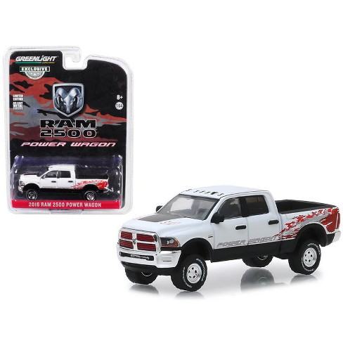 2016 Dodge Ram >> 2016 Dodge Ram 2500 Power Wagon Pickup Truck Bright White Clearcoat Hobby Exclusive 1 64 Diecast Car By Greenlight