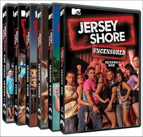 Jersey shore:Complete series pack (DVD) - image 1 of 1