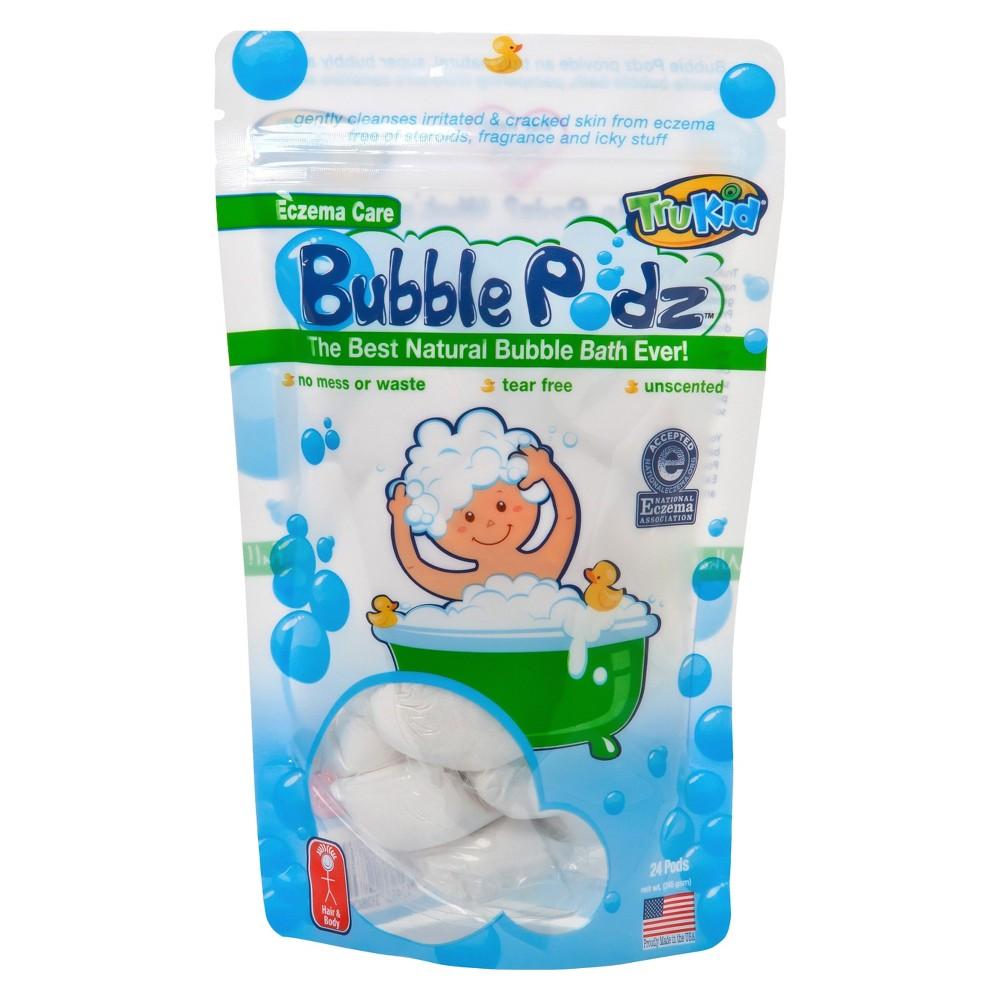 TruKid Eczema Care Bubble Podz - 24ct