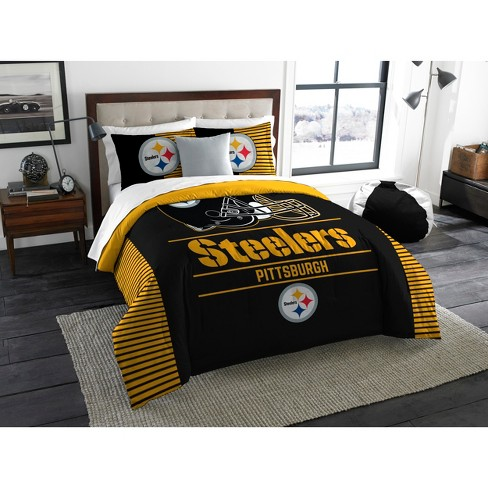 NFL Pittsburgh Steelers The Northwest Co. King Size Printed Comforter & Sham - image 1 of 2