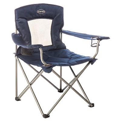 Kamprite Padded Chair with Mesh Back