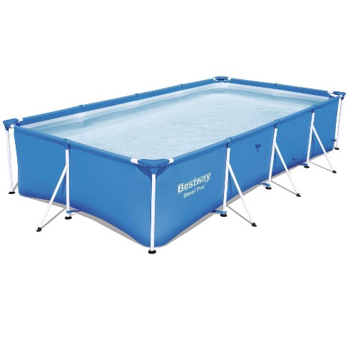 """Bestway Steel Pro 13' x 7' x 32"""" Rectangular Ground Swimming Pool (Pool Only) - image 1 of 4"""