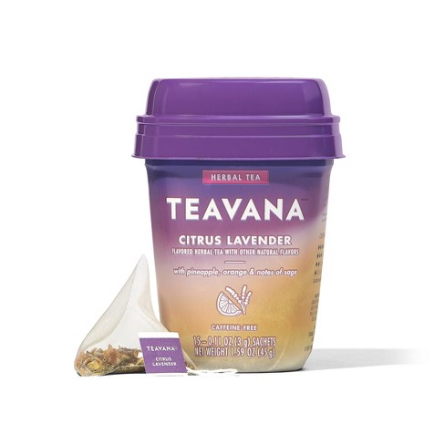Teavana Citrus Lavender Tea Bags - 15ct/1.2oz - image 1 of 4