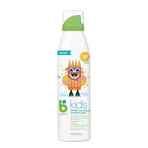 Babyganics Kid's Sunscreen Continuous Spray - SPF 50 - 6oz - image 1 of 4