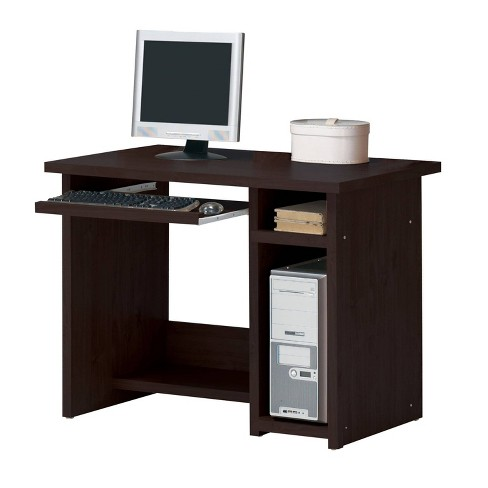 Linda Computer Desk Espresso Brown - Acme - image 1 of 1