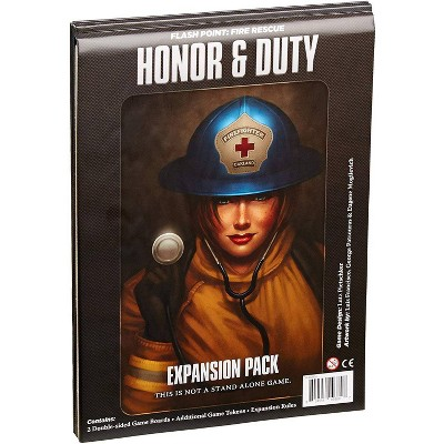 Flash Point: Fire Rescue Board Game Honor & Duty Expansion Pack