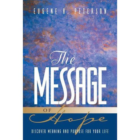 The Message of Hope - (Paperback) - image 1 of 1