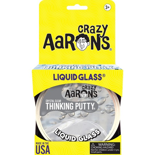 "Crazy Aaron's Thinking Putty - 4"" Liquid Glass image number null"
