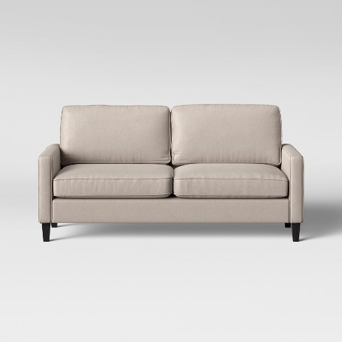 Elmhurst Loose Back Cushion Sofa Beige Project 62 Target