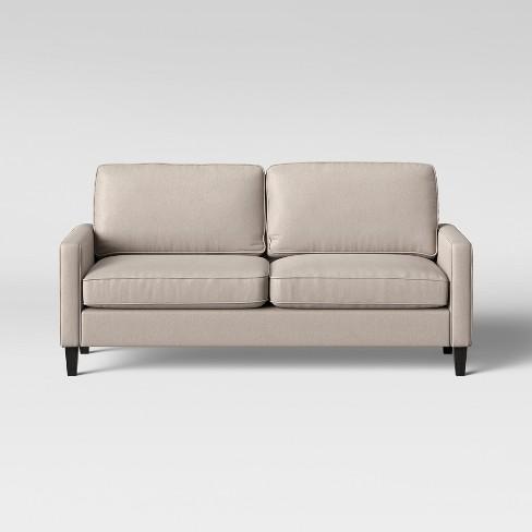 Elmhurst Loose Back Cushion Sofa Beige Project 62