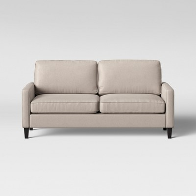 Gentil Elmhurst Loose Back Cushion Sofa Beige   Project 62™