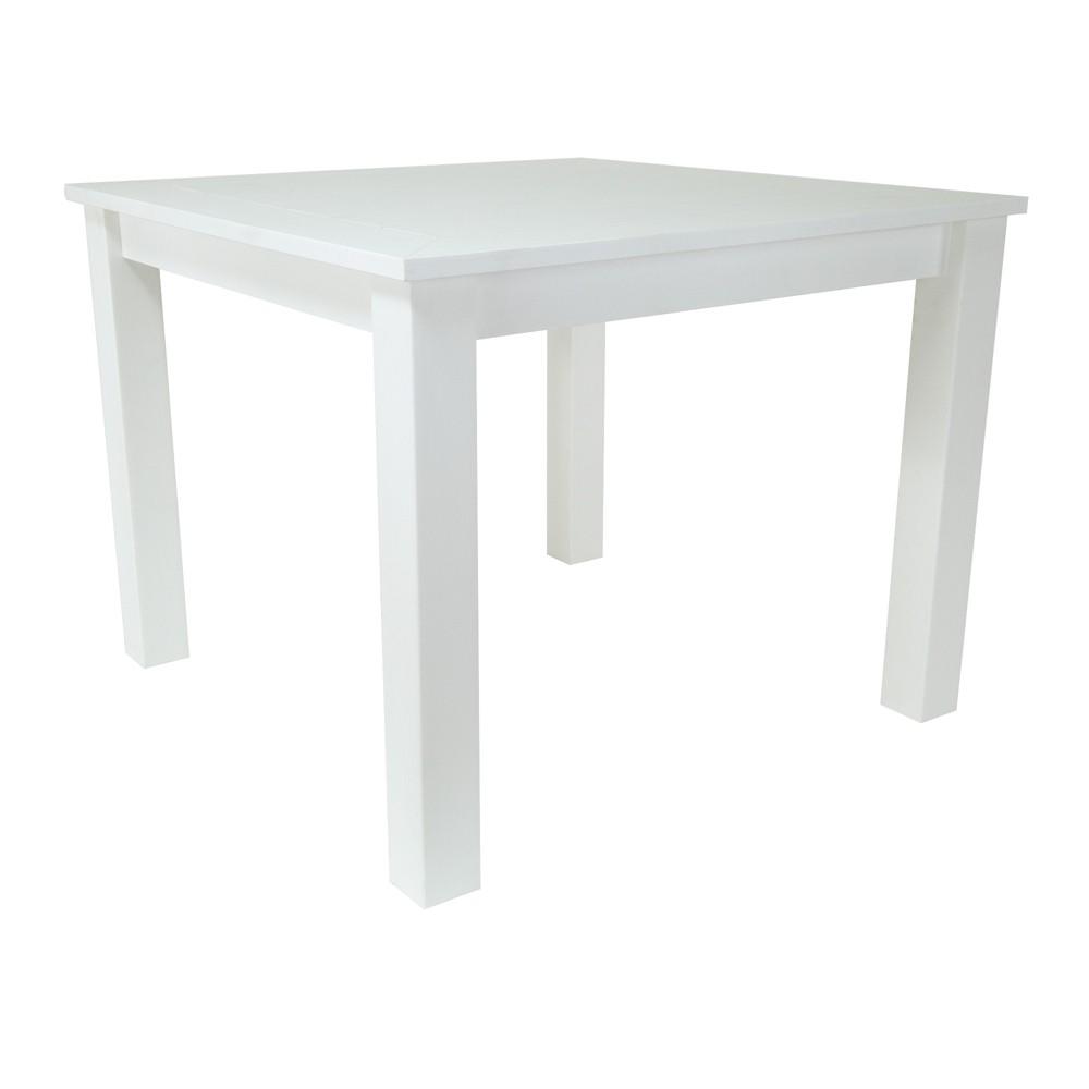 Sunrise Outdoor Plastic Dining Table White - Shine Company Inc.