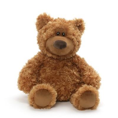 """G by GUND Teddy Bear Plush 13"""" Stuffed Animal - Tan"""