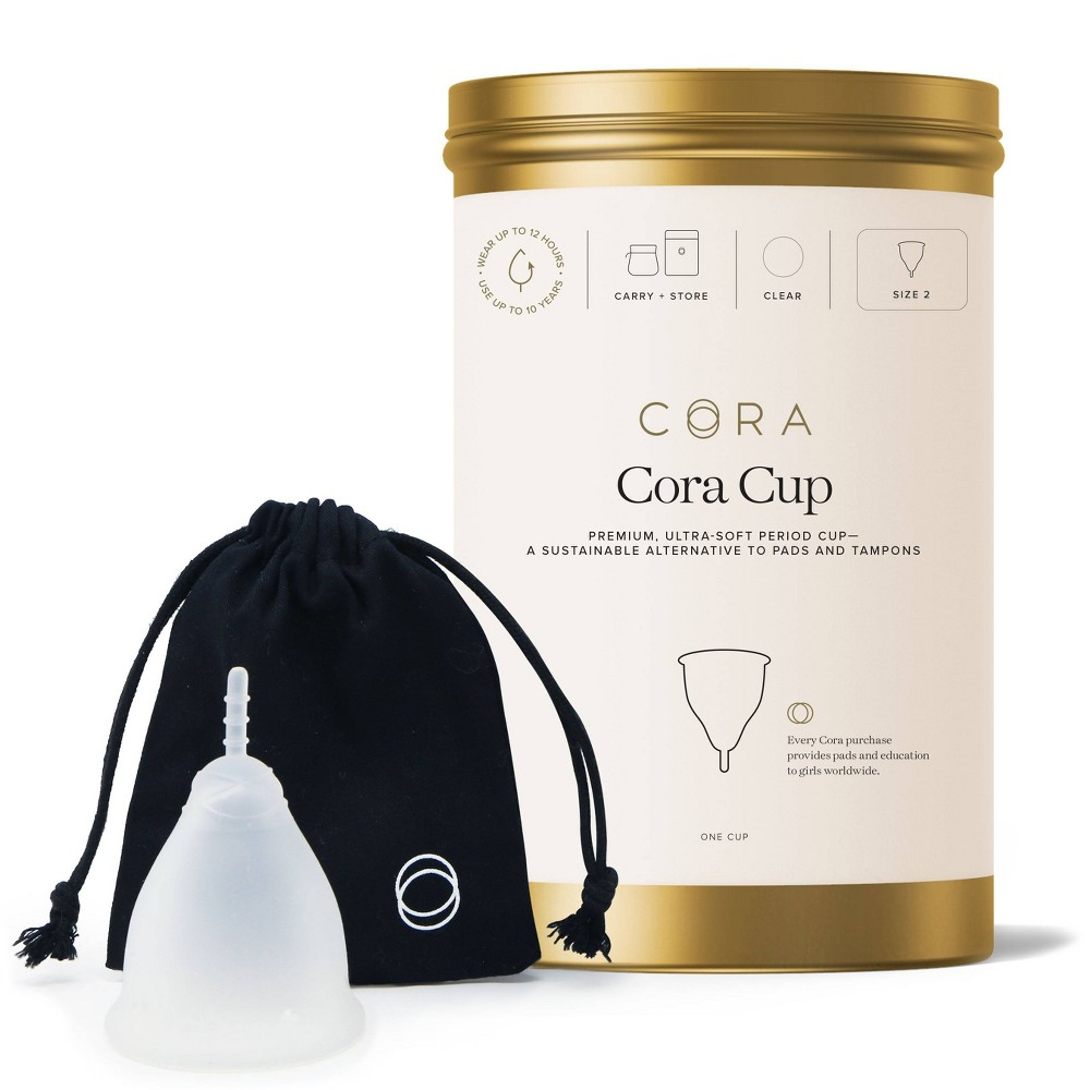 Cora 39 The Cora Cup 39 Menstrual Cup Size 2