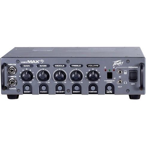 Peavey MiniMAX 500W Bass Amp head Black - image 1 of 4