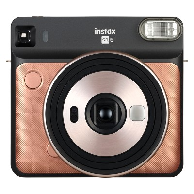 Fujifilm Instax SQ6 Instant Camera - Blush Gold (16581460)